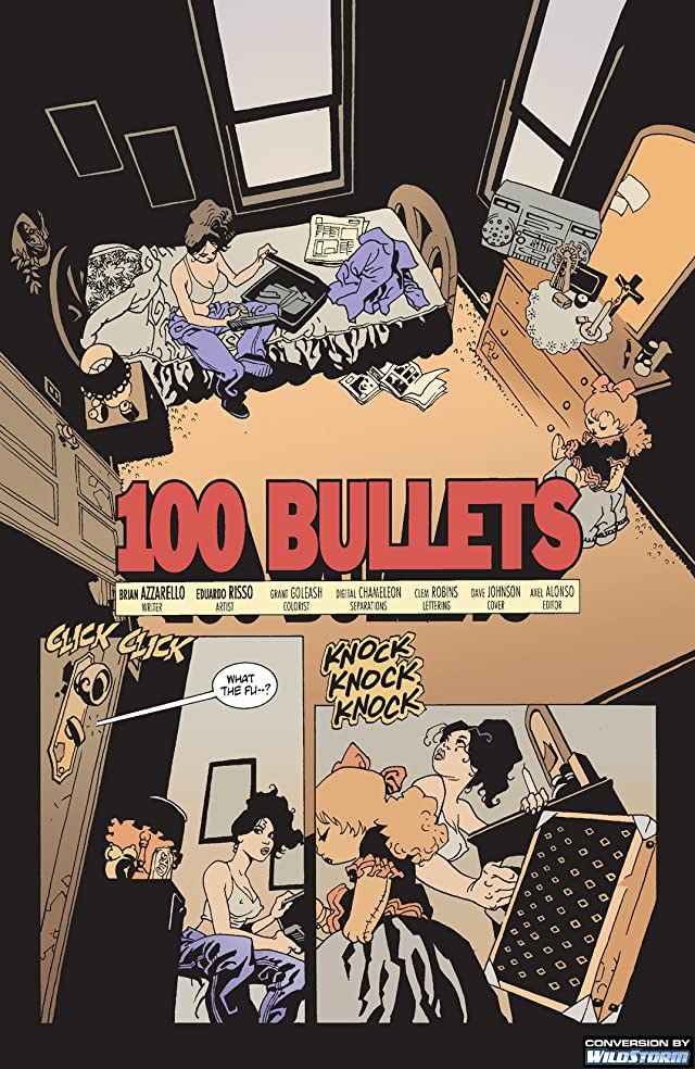 click for super-sized previews of 100 Bullets #2