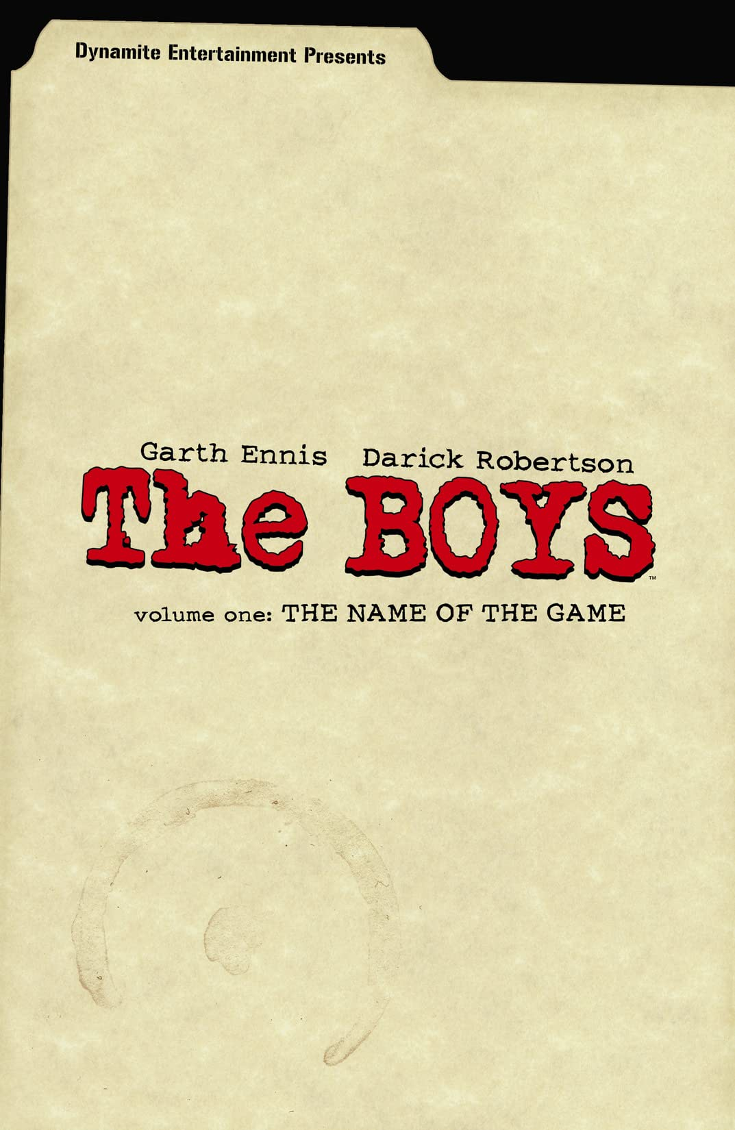 The Boys Vol. 1: The Name of the Game
