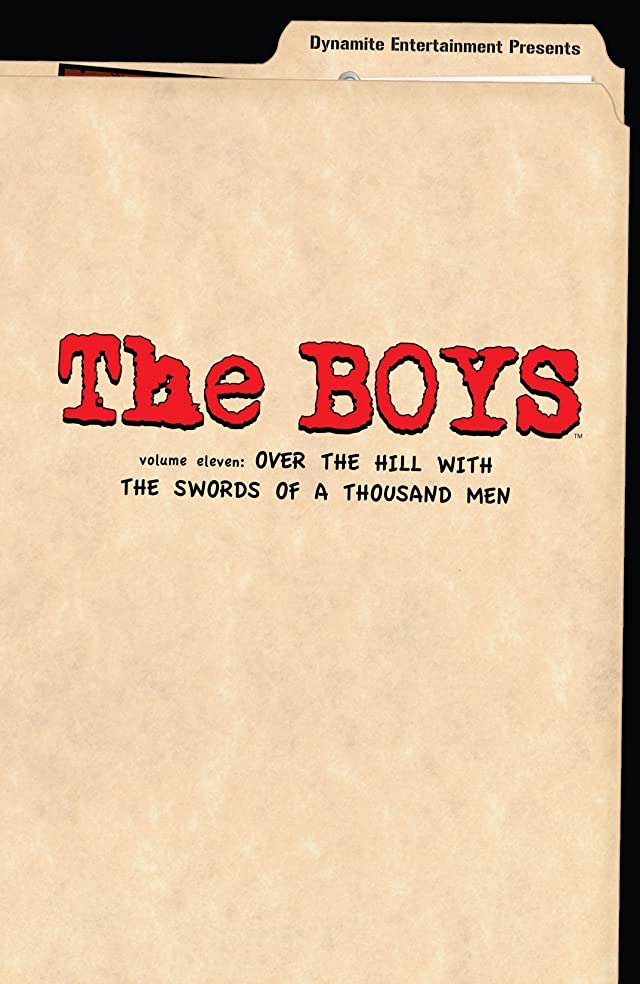 click for super-sized previews of The Boys Vol. 11: Over the Hill with Swords of A Thousand Men