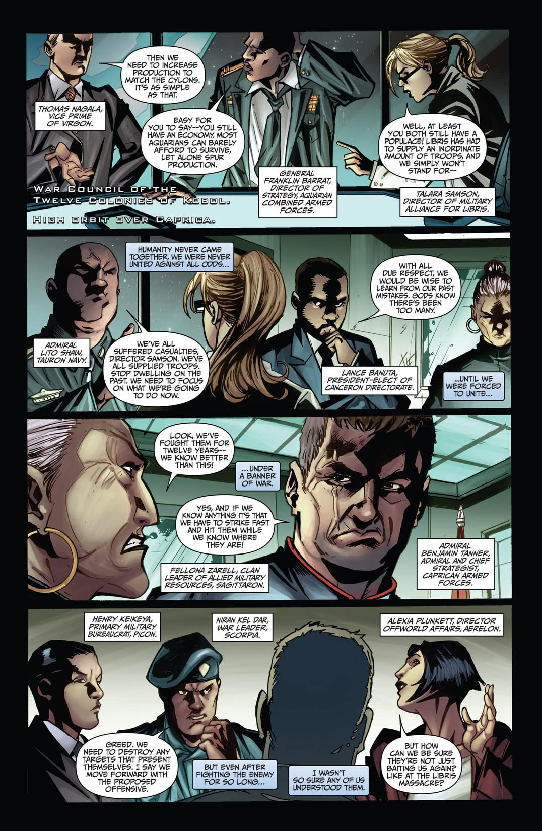 Battlestar Galactica: Cylon War #4 (of 4)