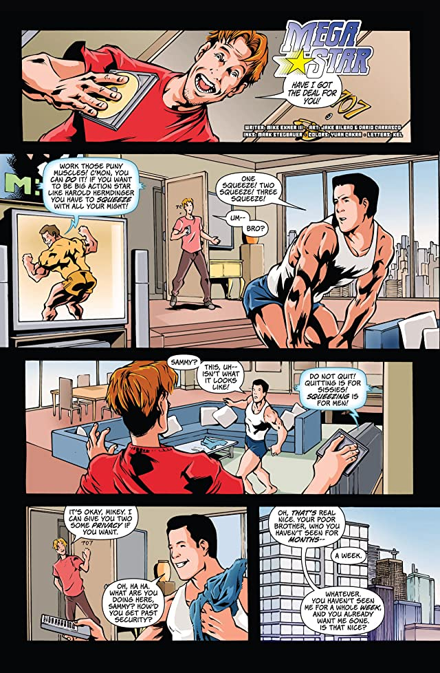 click for super-sized previews of Digital Webbing Presents #10