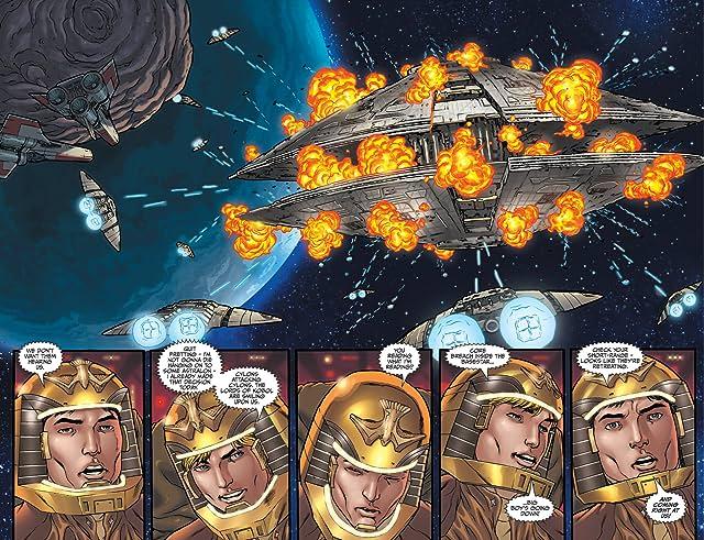 Classic Battlestar Galactica: Cylon Apocalypse #1