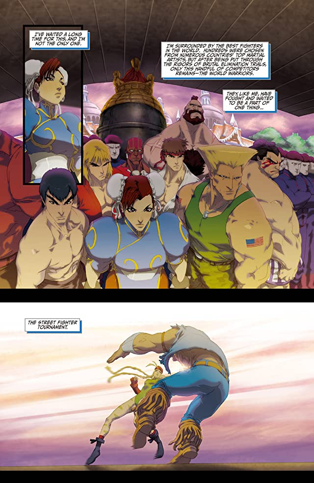 click for super-sized previews of Street Fighter II Turbo #1
