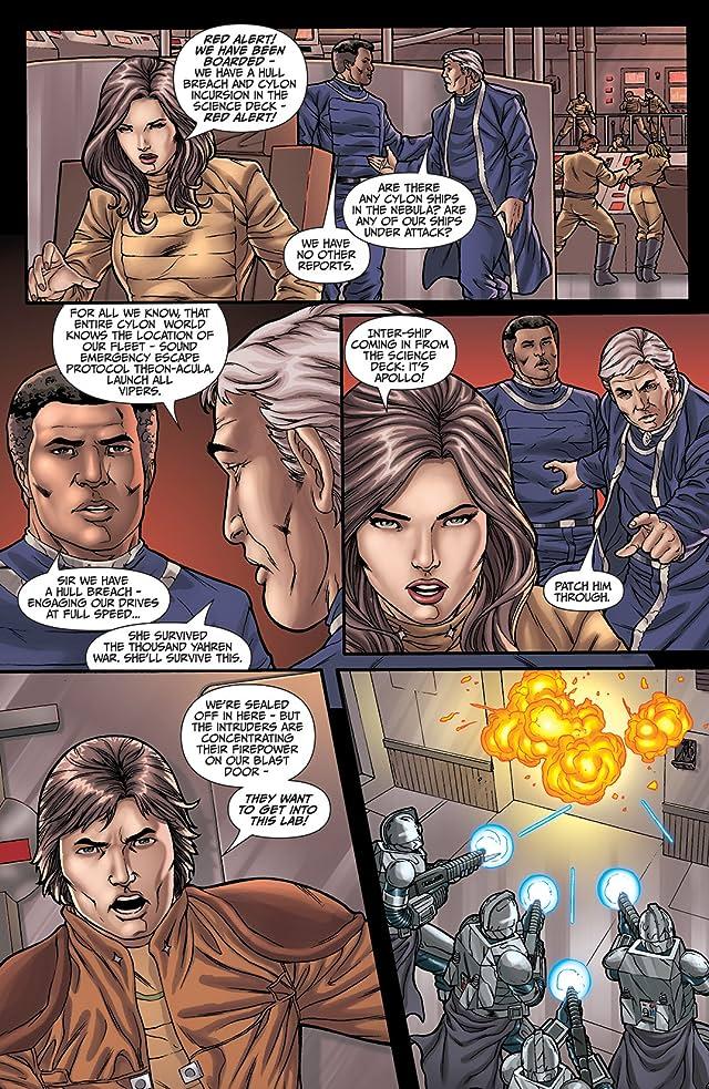 Classic Battlestar Galactica: Cylon Apocalypse #2