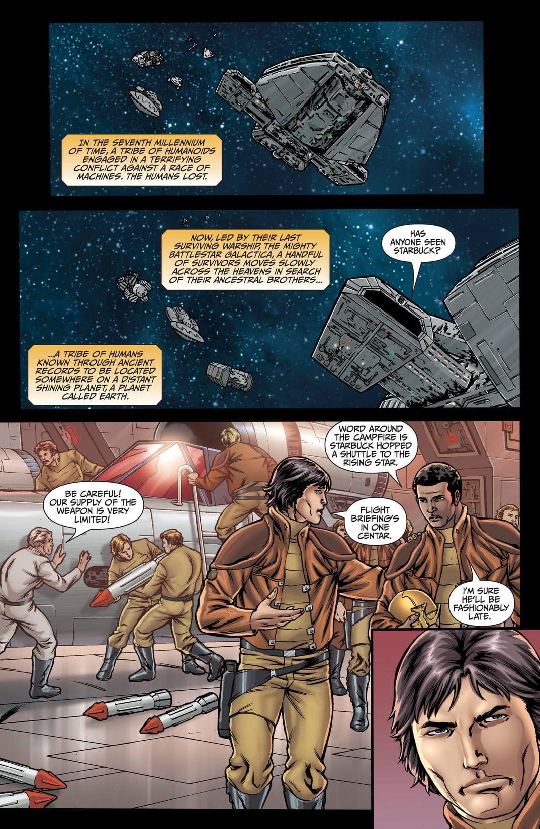 Classic Battlestar Galactica: Cylon Apocalypse #3