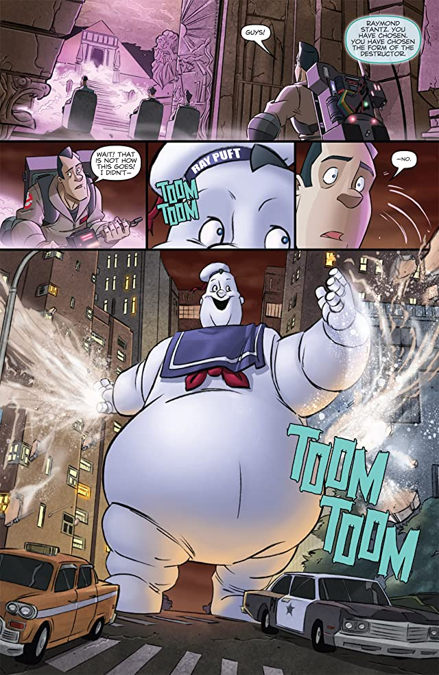 click for super-sized previews of Ghostbusters (2011-2012) Vol. 1