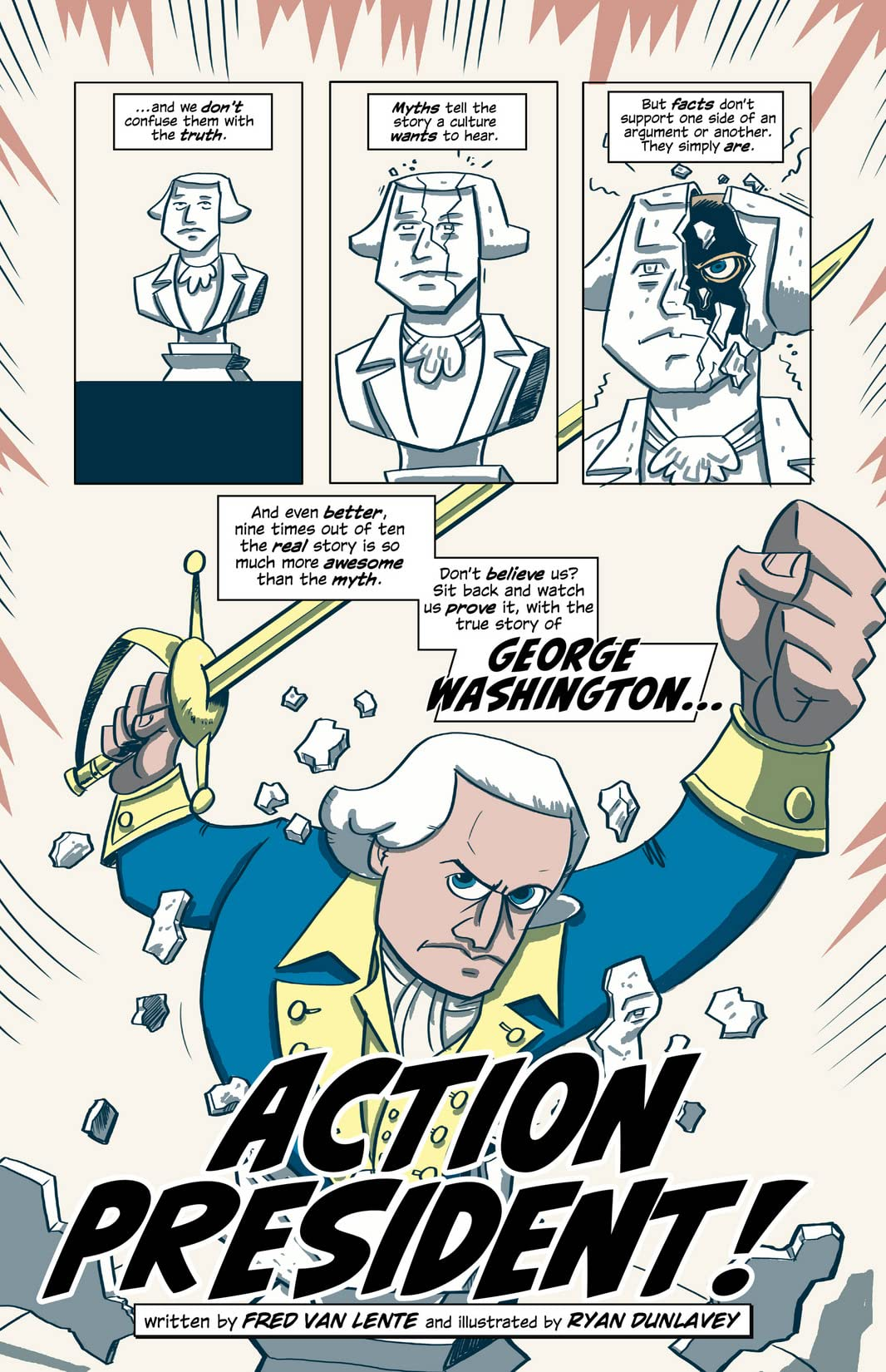 Action Presidents #1: Washington