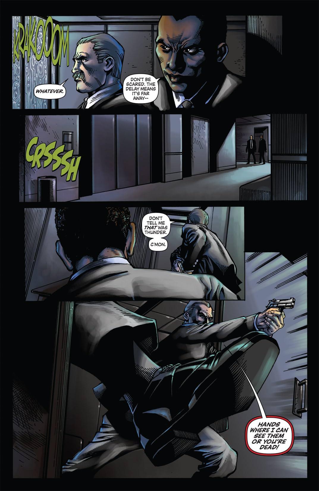 The Green Hornet Strikes! #1
