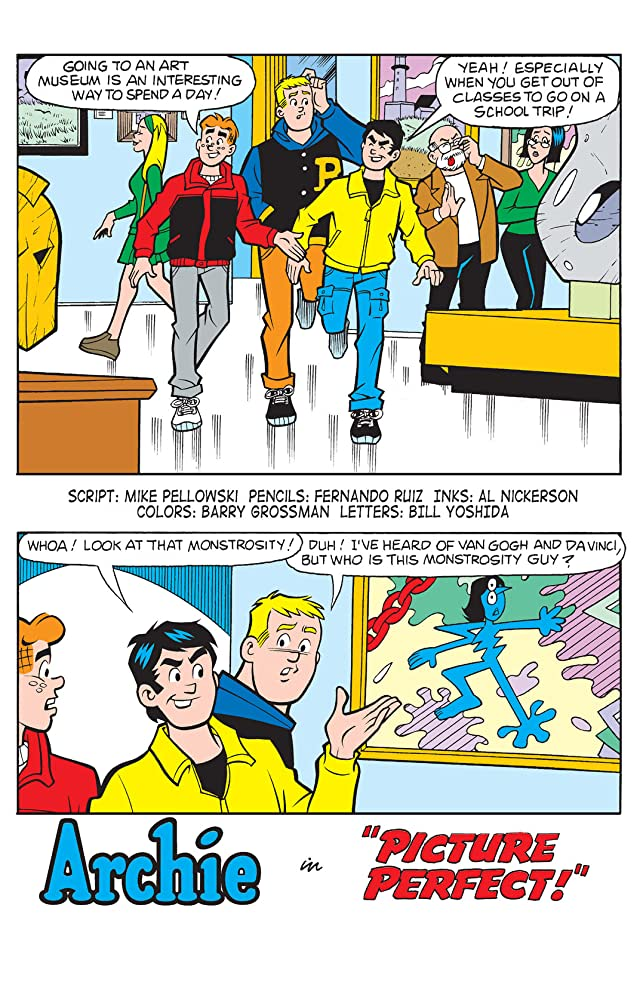 click for super-sized previews of PEP Digital #86: Archie & Friends Art Smarts