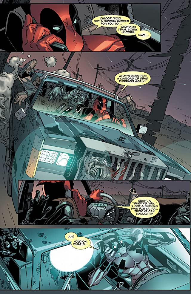 click for super-sized previews of Deadpool: Dead Head Redemption