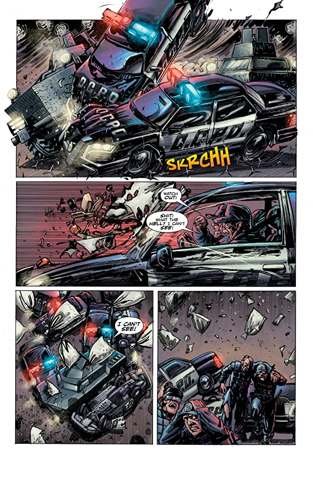 click for super-sized previews of Robocop: Last Stand #4