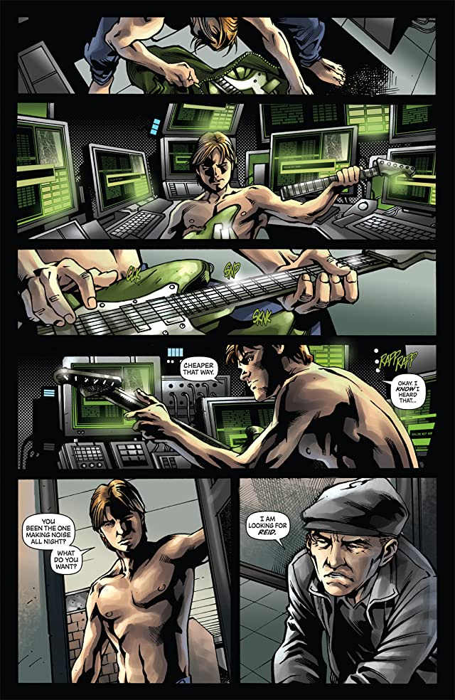 click for super-sized previews of The Green Hornet Strikes! #3