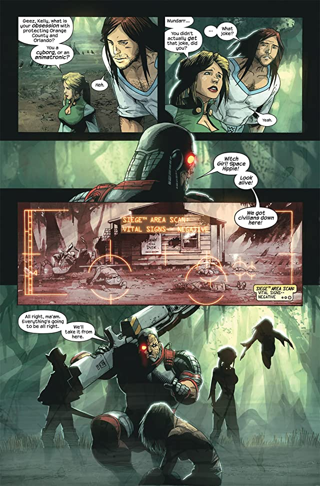 click for super-sized previews of Marvel Zombies 3