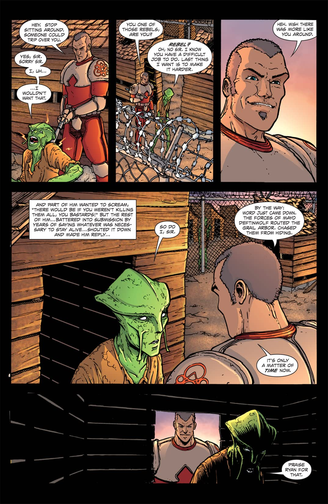 The Amory Wars: In Keeping Secrets of Silent Earth: 3 #4 (of 12)