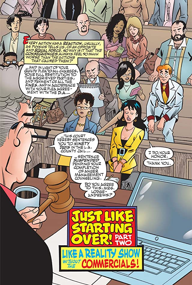click for super-sized previews of Life With Archie #20