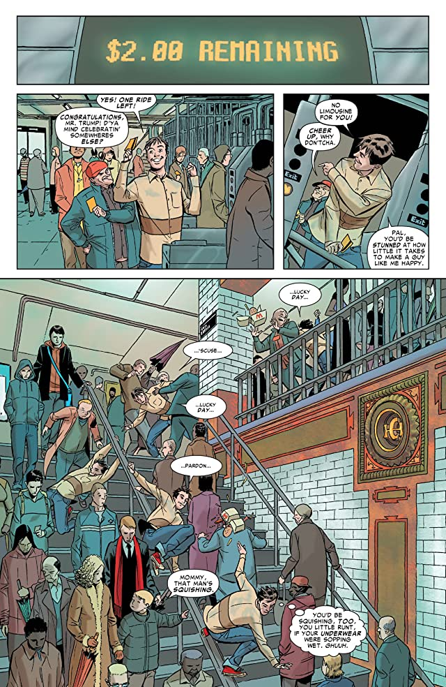 click for super-sized previews of Spider-Man: Death and Dating