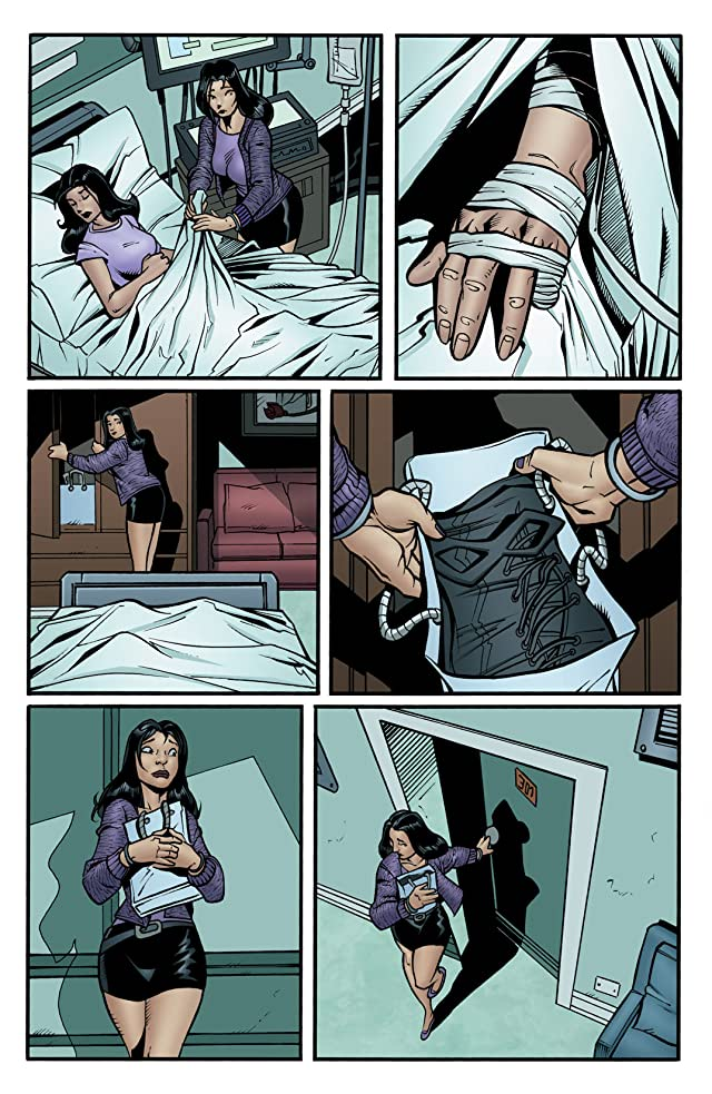 click for super-sized previews of Incorruptible #7