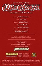 Queen Sonja Vol. 3: Coming of Age