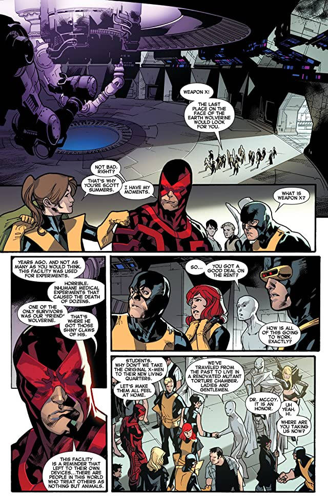 click for super-sized previews of All-New X-Men #18