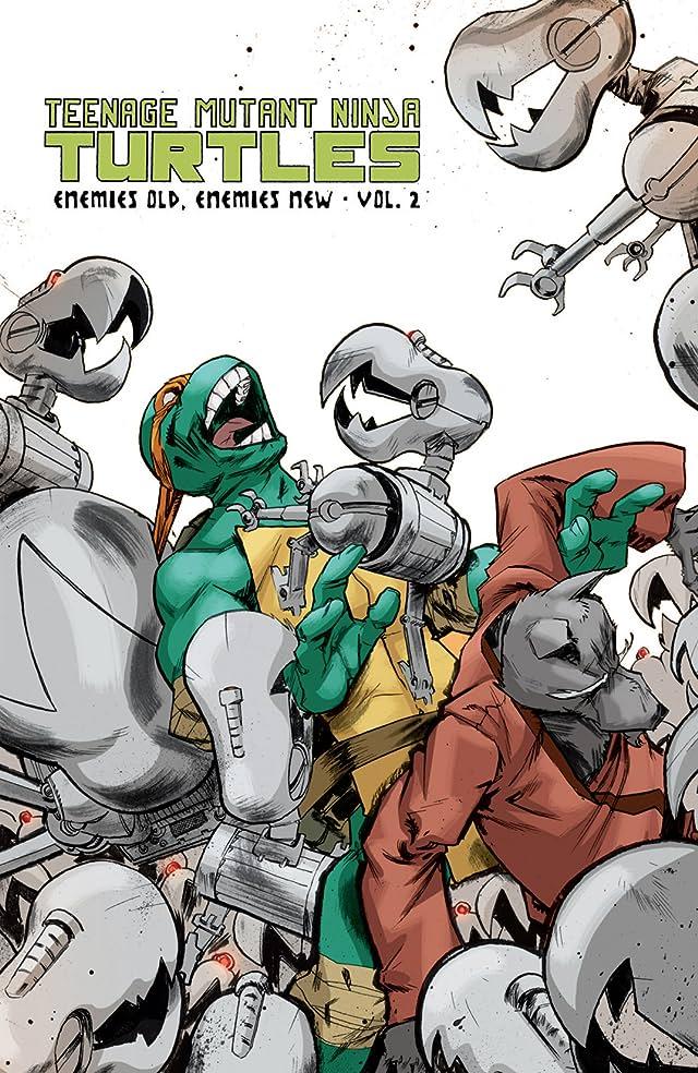 click for super-sized previews of Teenage Mutant Ninja Turtles Vol. 2: Enemies Old, Enemies New