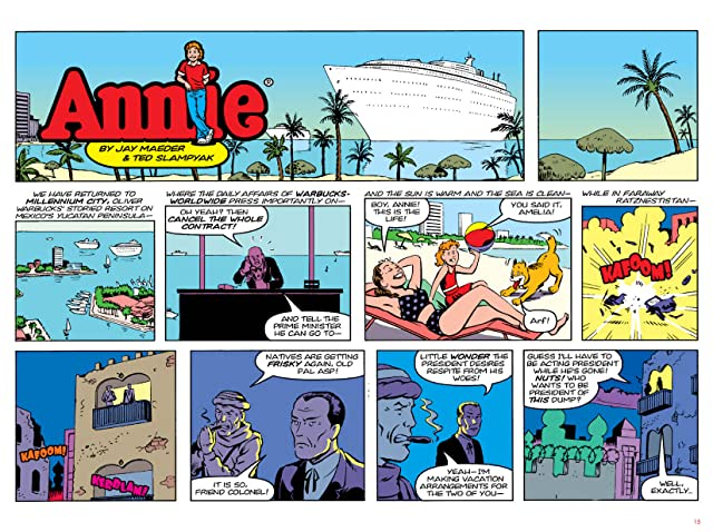 click for super-sized previews of Annie Vol. 2: Springtime in Ratznestistan & Bones of the Yucatan