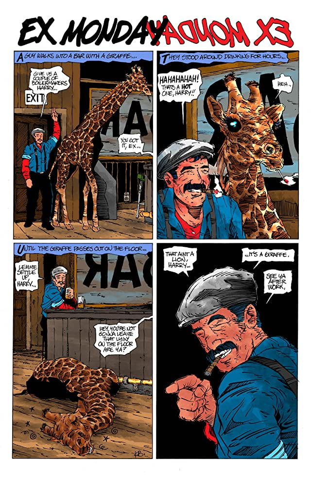 click for super-sized previews of Ex Monday #1