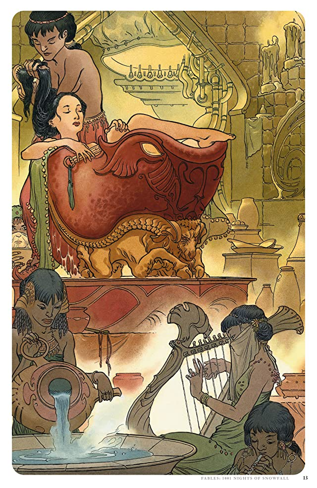 click for super-sized previews of Fables: 1001 Nights of Snowfall