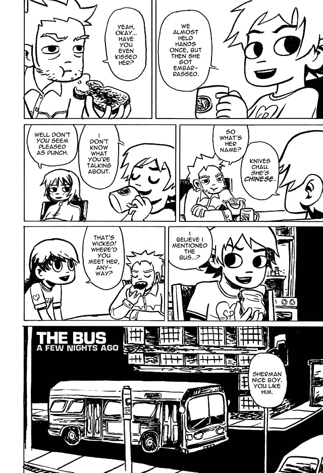 Scott Pilgrim Vol. 1: Black and White Digital Omnibus