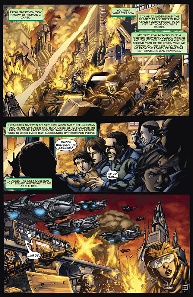 click for super-sized previews of Battlestar Galactica: Origins Omnibus