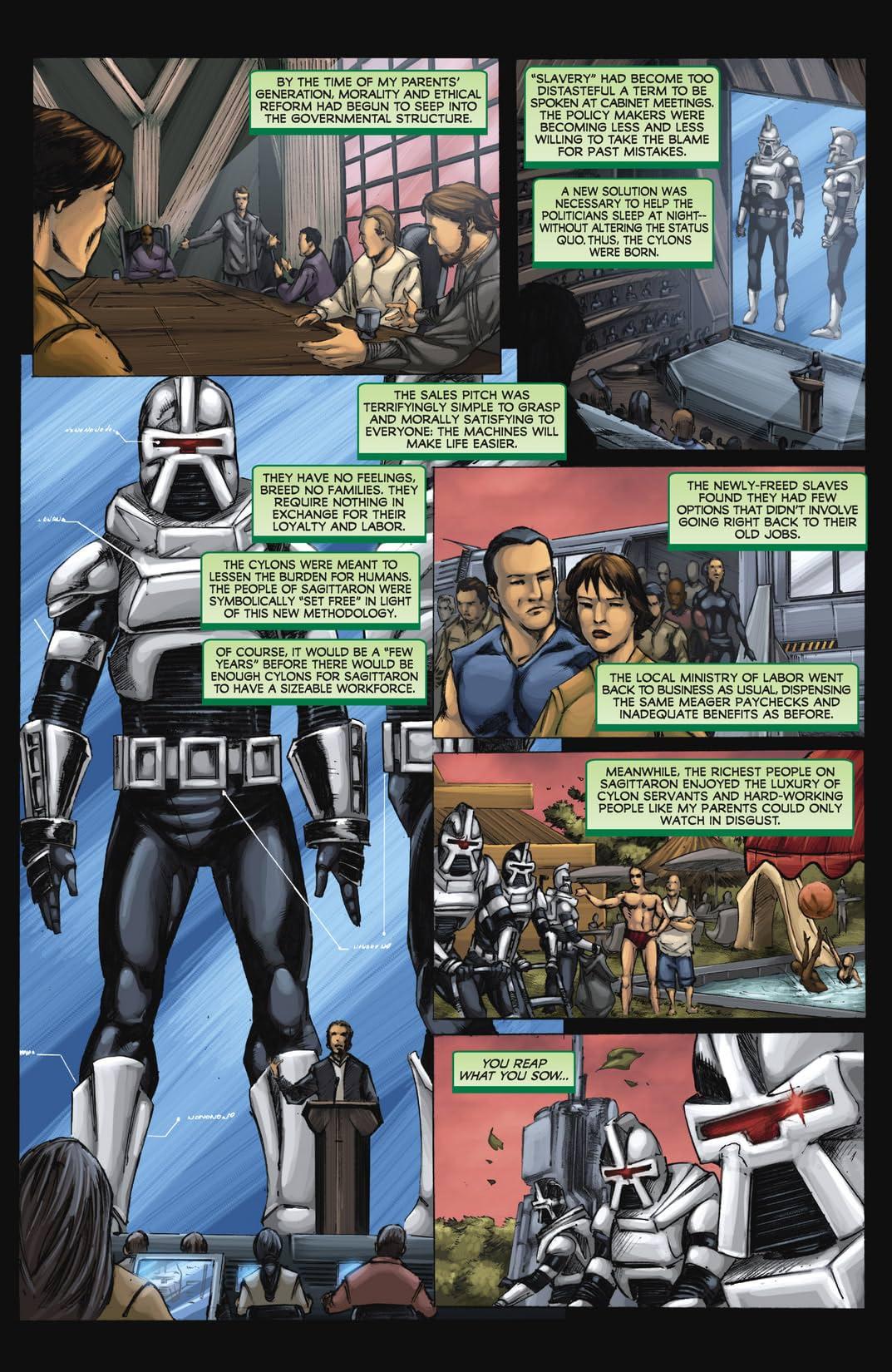 Battlestar Galactica: Origins Omnibus