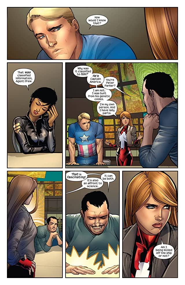 click for super-sized previews of Cataclysm: Ultimate Comics Spider-Man #1