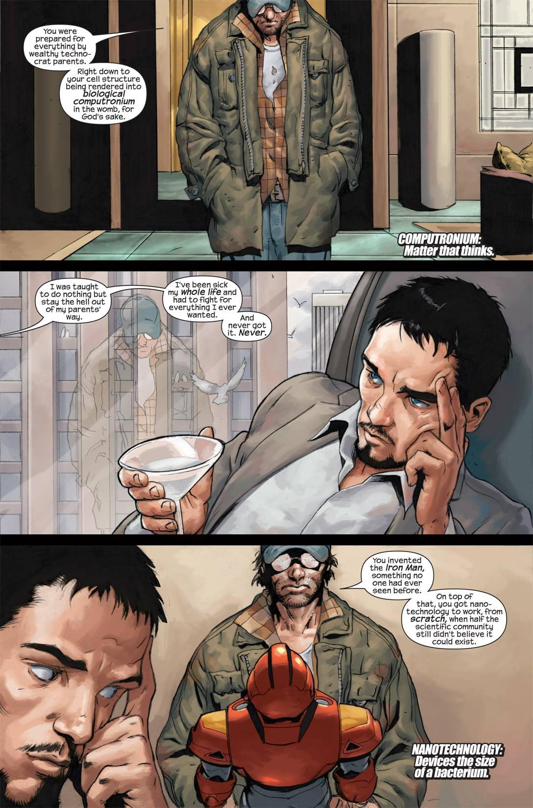 Ultimate Hulk vs. Iron Man: Ultimate Human