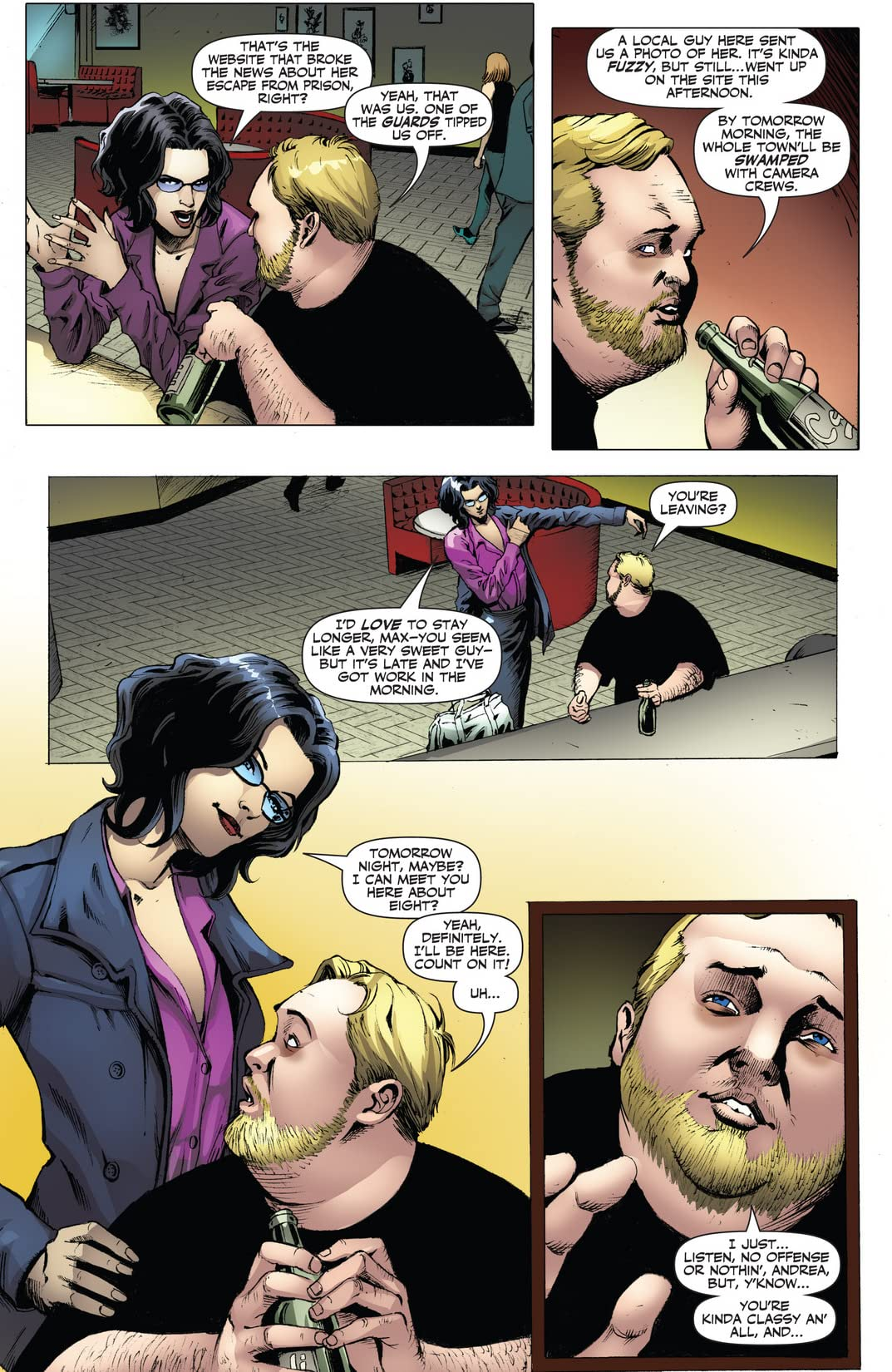 Garth Ennis' Jennifer Blood #33