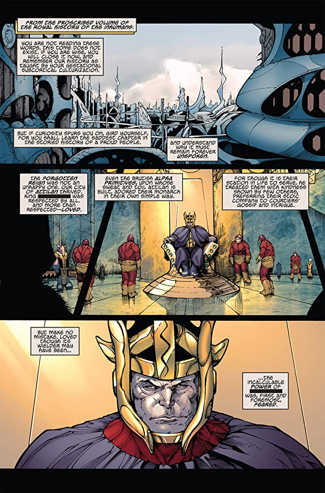 click for super-sized previews of Mighty Avengers: The Unspoken