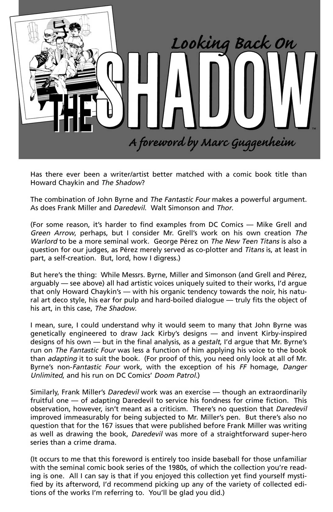 The Shadow: Blood & Judgment (Dynamite)