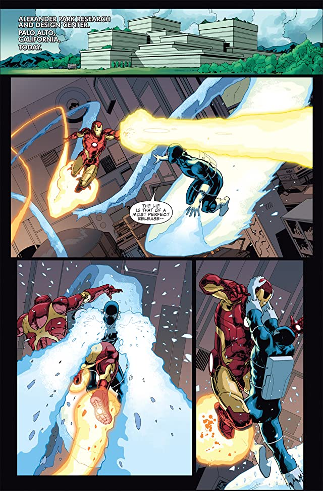 Iron Man 2.0 Vol. 1: Palmer Addley Is Dead
