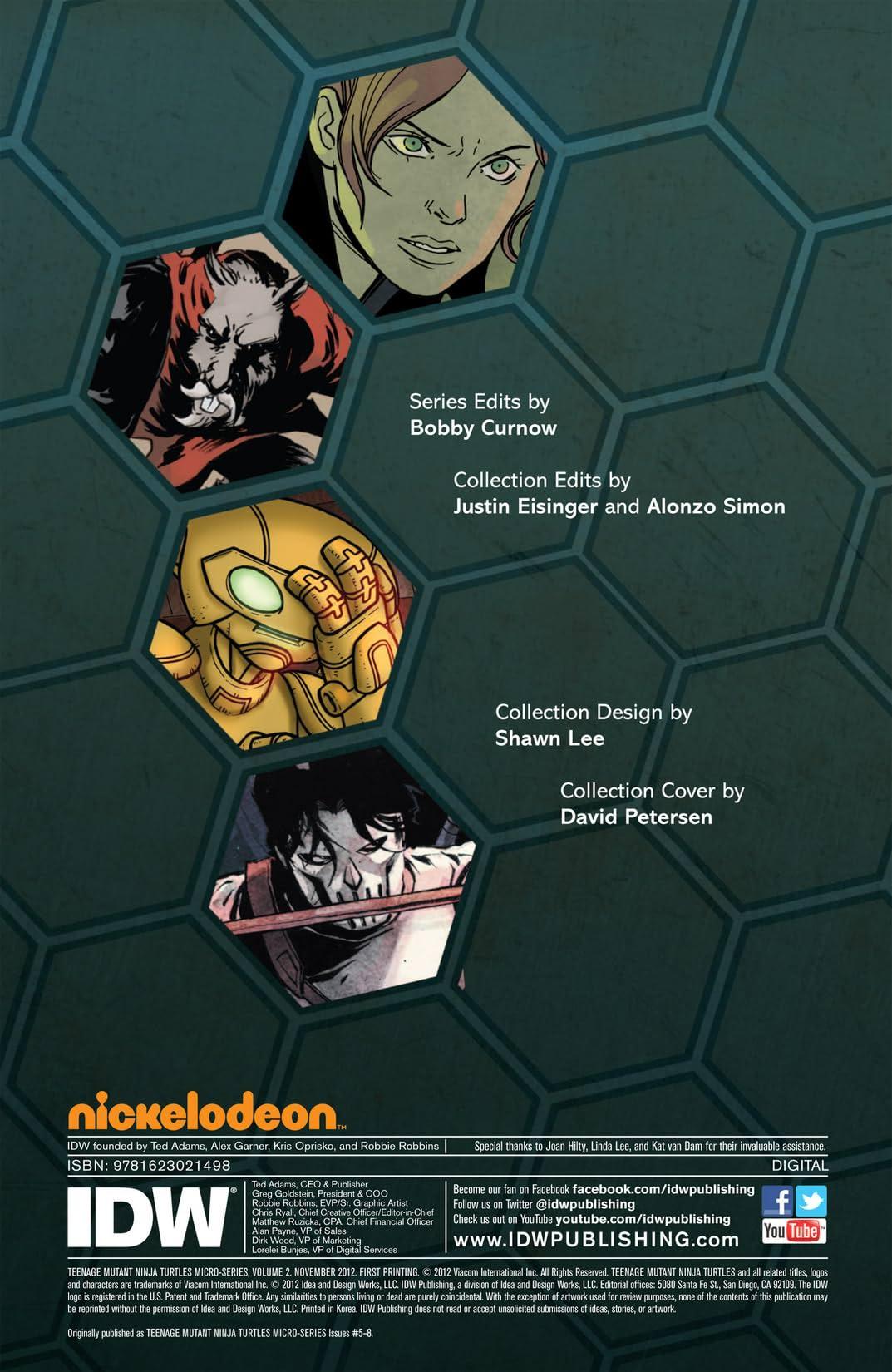 Teenage Mutant Ninja Turtles Micro Series Vol. 2