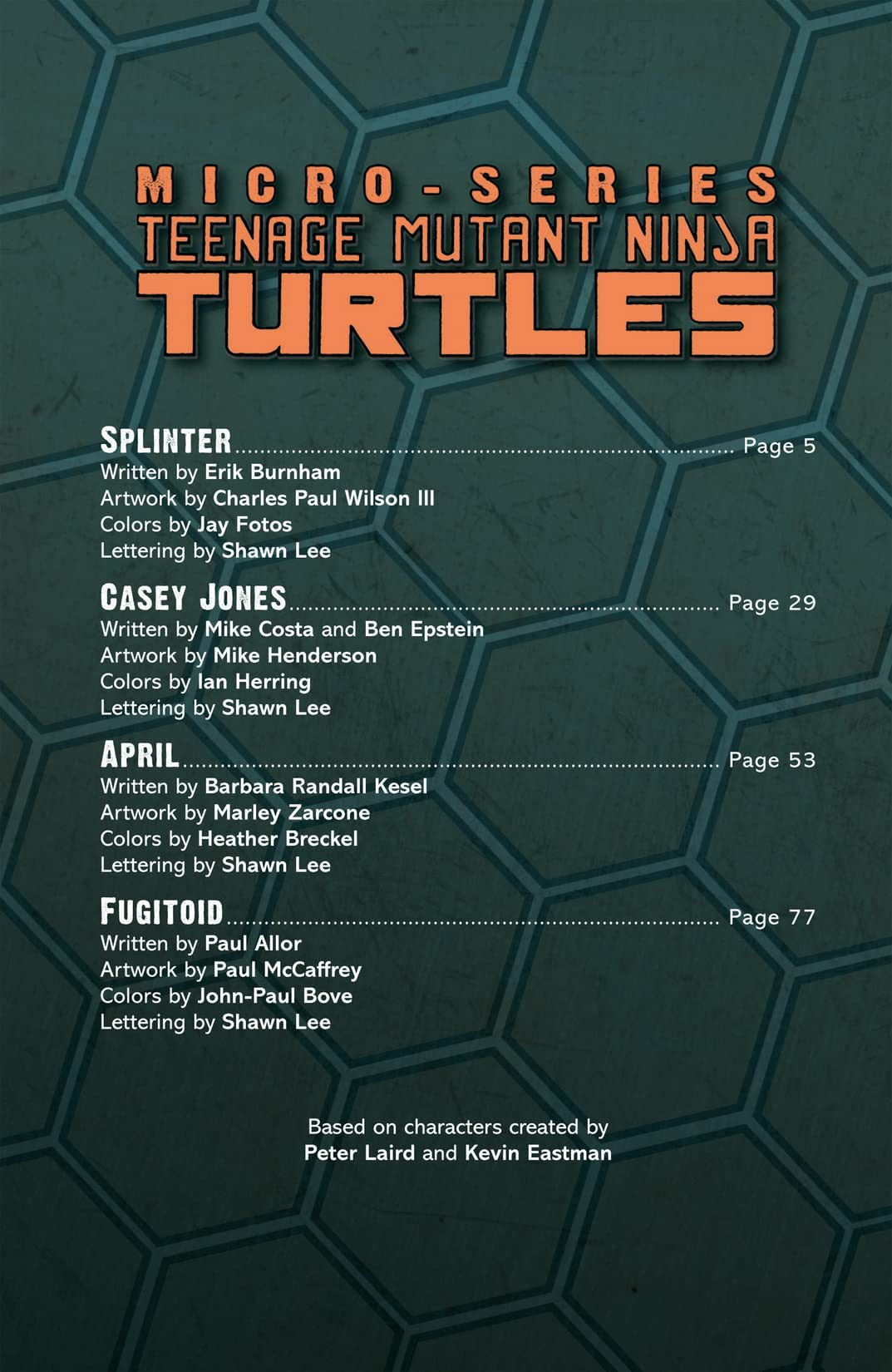 Teenage Mutant Ninja Turtles Micro Series Vol. 2
