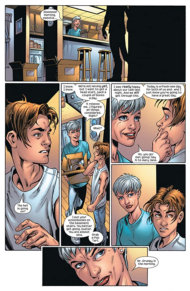 click for super-sized previews of Ultimate Spider-Man Vol. 12: Superstars