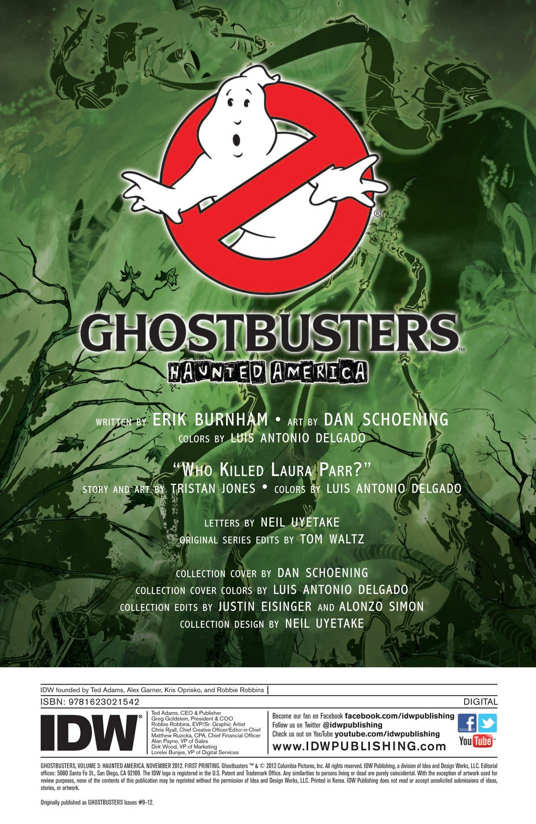 Ghostbusters (2011-2012) Vol. 3: Haunted America