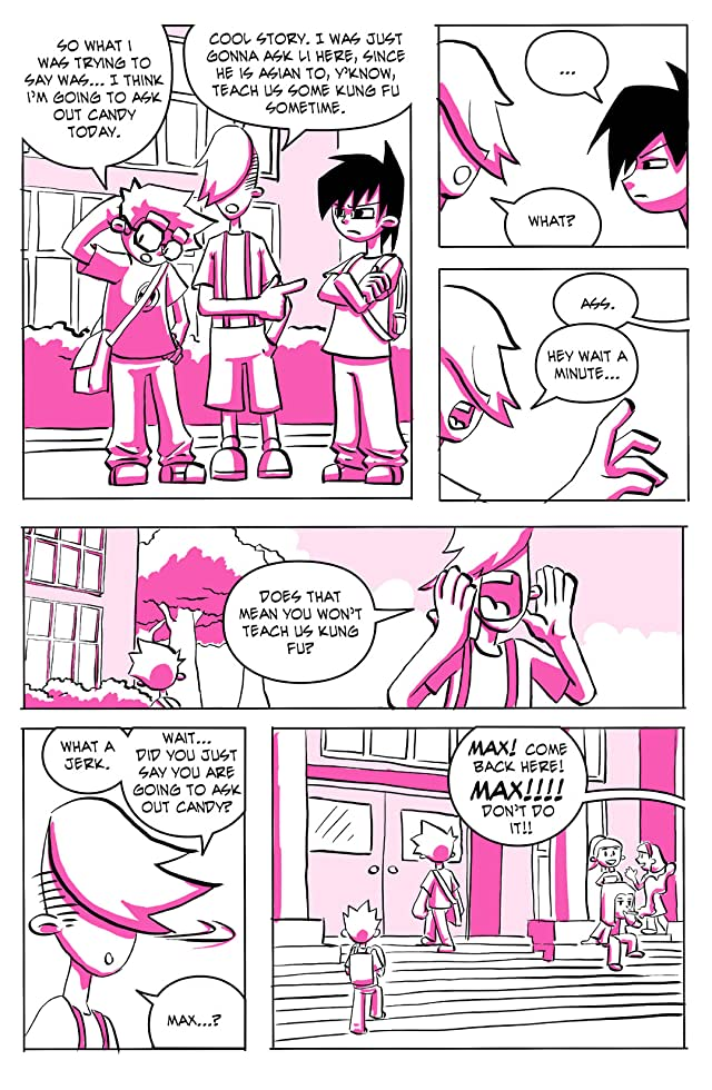 click for super-sized previews of High School Romance #1
