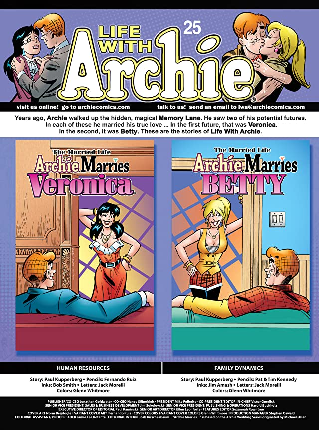 click for super-sized previews of Life With Archie #25