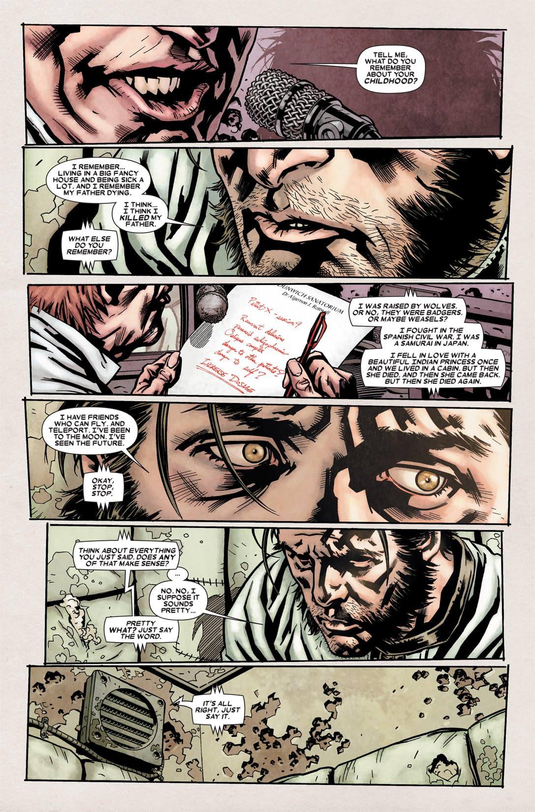 Wolverine: Weapon X Vol. 2: Insane in the Brain
