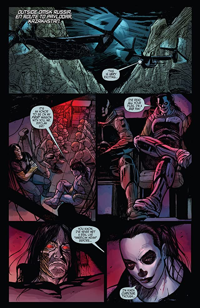 click for super-sized previews of Cyberforce (2012) #7