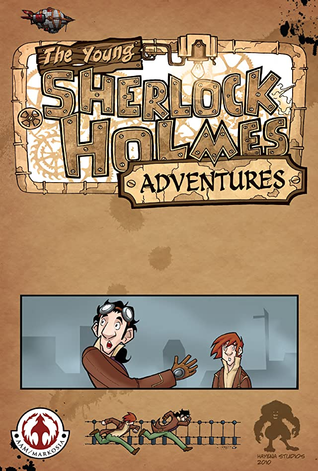 click for super-sized previews of Young Sherlock Holmes Adventures