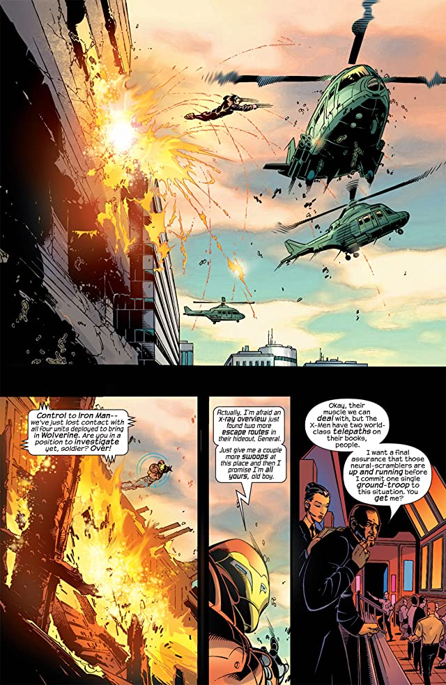 click for super-sized previews of Ultimate War #4