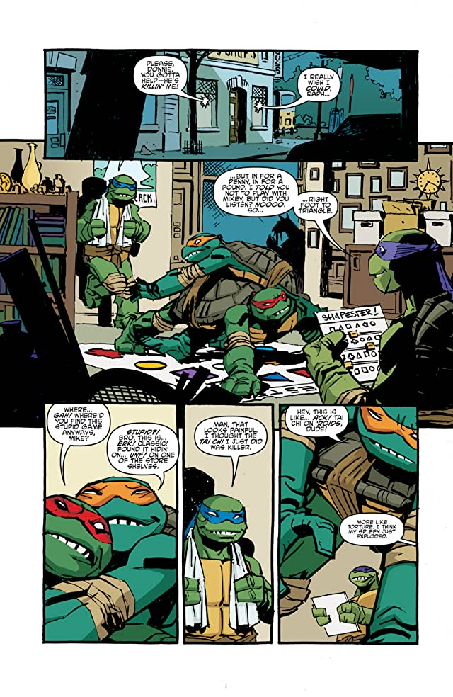 click for super-sized previews of Teenage Mutant Ninja Turtles Vol. 4: Sins of the Fathers