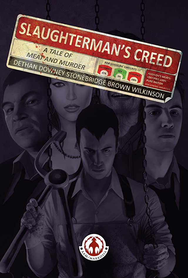click for super-sized previews of Slaughterman's Creed