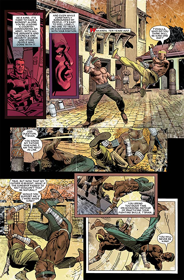 click for super-sized previews of Black Panther (2005-2008) #14