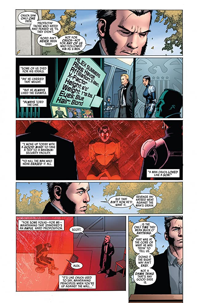 click for super-sized previews of Uncanny Avengers Vol. 1: The Red Shadow